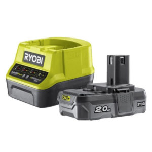 caricabatteria e batteria nebulizzatore ryobi