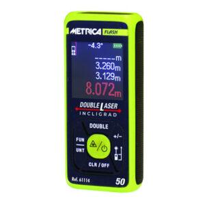 misuratore laser double incligrad mettrica