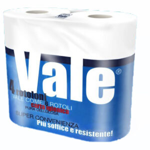 carta igienica 4 rotoli