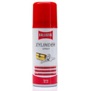 spray lubrificante per cilindri serrature ballistol