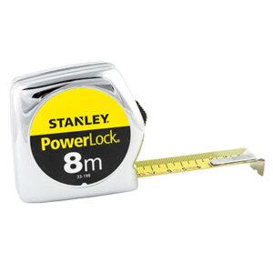 stanley 133198 powerlock flessometro 8m