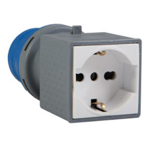 vb-76000 adattatore industriale spina presa shucko 10-16a 230v
